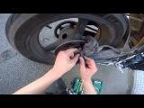 Замена колодок на мотоцикле Honda CBR600RR