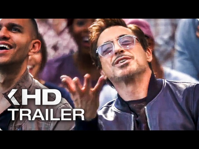 SPIDER-MAN Homecoming Tony Starks Party Extended Cut Trailer (2017)