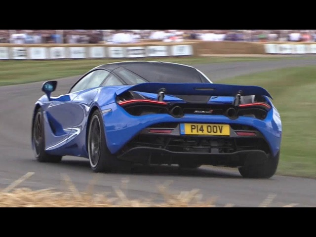 McLaren 720S Driven FLAT OUT Loud SOUNDS! - Burnouts, Launches, Accelerations More!