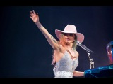 Lady Gaga cries as she reads touching fan letter in Louisville