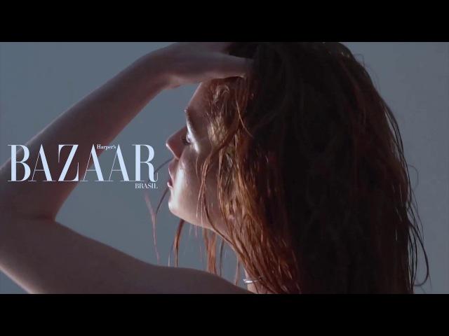Making of - Marina Ruy Barbosa na capa da Harper's Bazaar Janeiro/Dezembro
