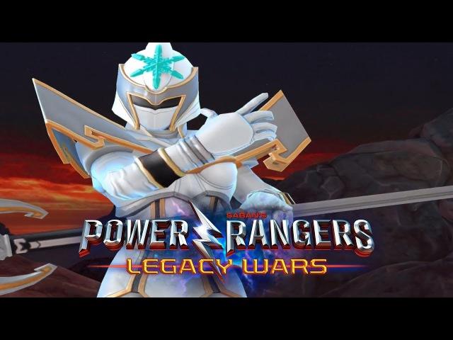 Power Rangers Legacy Wars - Udonna (White Ranger) Gameplay Battles | Freeze Type | Mystic Force