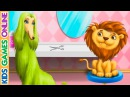 Animal Hair Salon Cut Color wash Dry and Curl Hair Kids Games Online