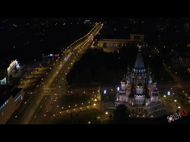 Ижевск, 4k -таймлапс видео. Timelapse in 4k, Izhevsk city, Russia.
