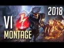 Vi Montage 1 - Best Vi Plays 2018 Pre-Season - League Of Legends / LOLPlayVN