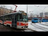 На трамвае Vario LF по маршруту 47