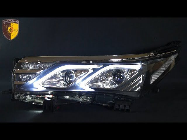 Тюнинг фары Тойота Королла Headlights Toyota Corolla E160 E170 Benz Style