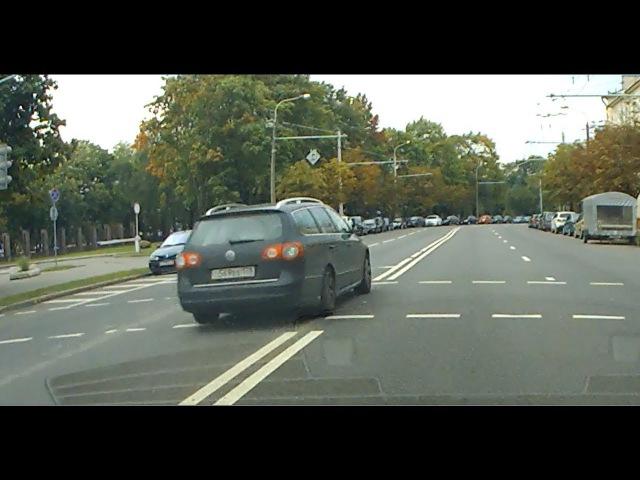 Видео погони ГАИ за бесправником на VW появилось в сети
