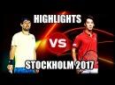 Yuichi Sugita vs Marcos Baghdatis STOCKHOLM 2017 Highlights