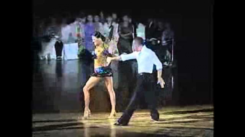 Латиноамериканский танец Ча-ча-ча.flv