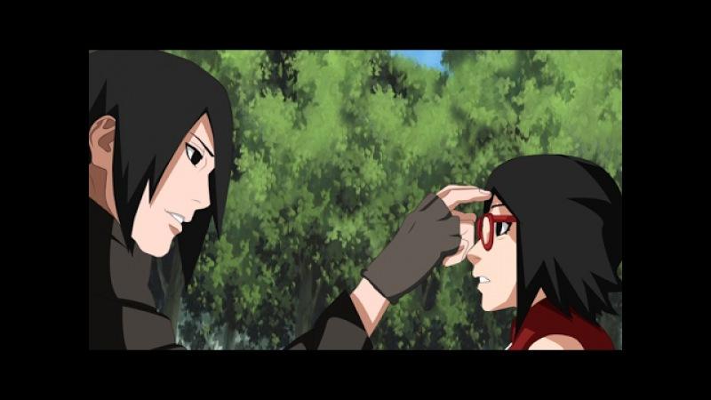 Sasuke Trains Sarada and Boruto (All Boruto Chunin Exams) ENG DUB- NARUTO ROAD TO BORUTO MOVIE STORY