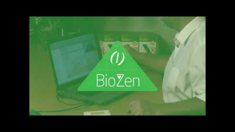The effect of BioZen measured with Biomonitor