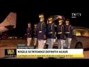 Plecarea de la Geneva a avionului Forțelor Aeriene Române