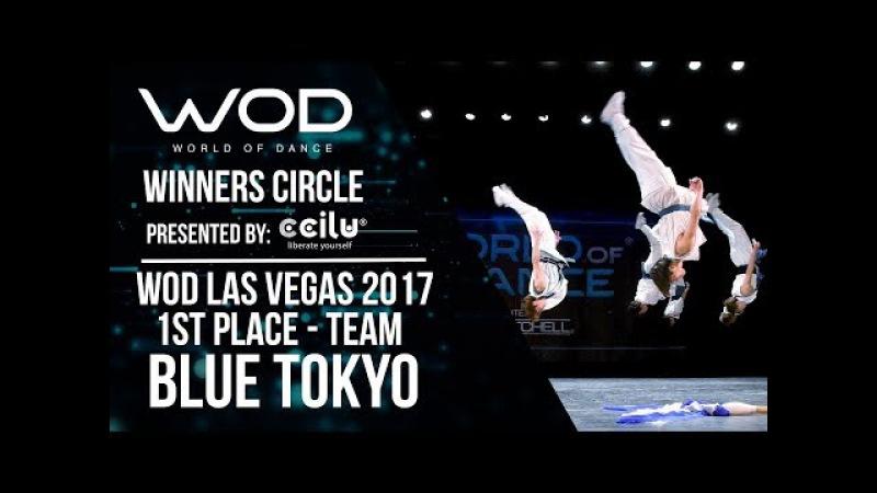 Blue Tokyo | 1st Place Team | Winners Circle | World of Dance Las Vegas 2017 | WODLV17