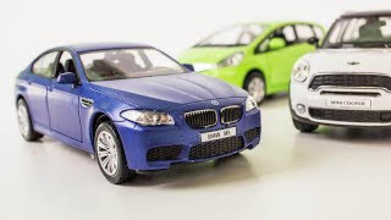 Крутые машинки BMW Mini и Honda от RMZ City. Распаковка и небольшой обзор