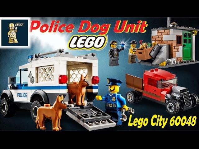 Лего ПОЛИЦЕЙСКИЙ отряд с собаками . Лего сити полиция . ЛЕГО 60048