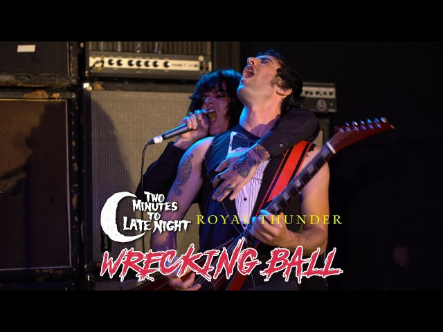 Mutoid Man and Royal Thunder Cover Wrecking Ball by Miley Cyrus