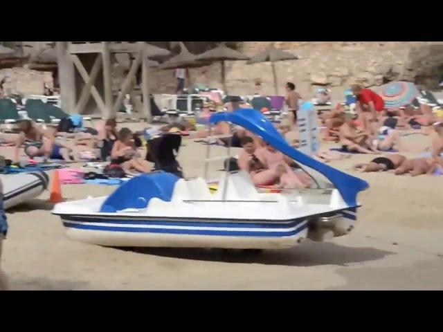 Spain Palma de Mallorca-Beach Review 4 Испания Пальма де майорка -пляжный обзор 4