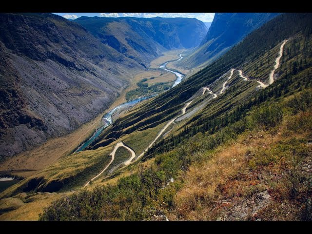 Перевал Кату-Ярык. Спуск в долину Челушмана. (Советы для начинающих автотуристов)