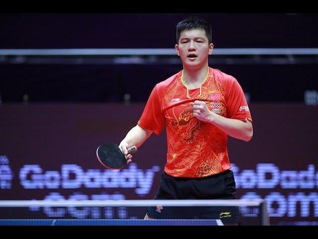 [MS-SF] FAN Zhendong(CHN) Vs BOLL Timo(GER) 2017 WTGrand Finals - Full Match – HD720p