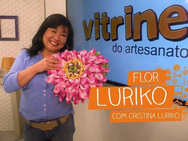 Flor Luriko com Cristina Luriko | Vitrine do Artesanato na TV