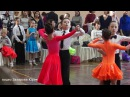 Квикстеп в 1/2 финала танцуют Захаров Степан и Крапивина Арина пара №91