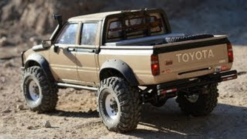 Scale Hilux Double Cab from RCMODELEX