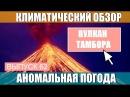 Извержение вулкана Тамбора. Аномальная погода. Климатические изменения. Выпуск 62