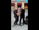 Уличные музыканты Питера.