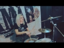 Rammstein - America drum cover