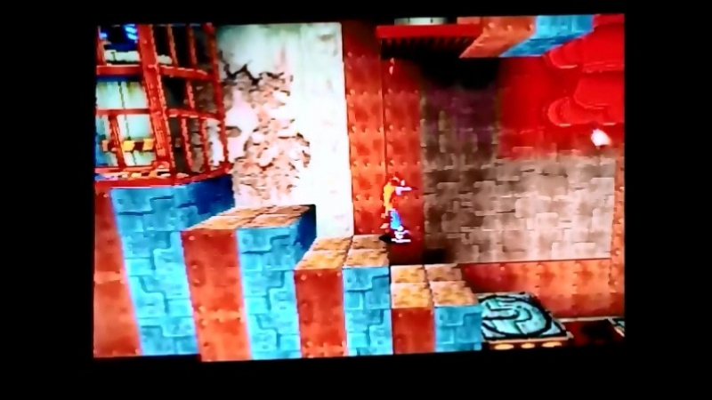 Crash Bandicoot 1(NTSC-U).УровеньCastle Machinery.Гем.