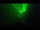 мужской стриптиз,световое шоу москва, стриптизер майкл с лазерами танцует в клубе