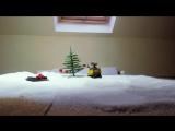 Валл-и и снег