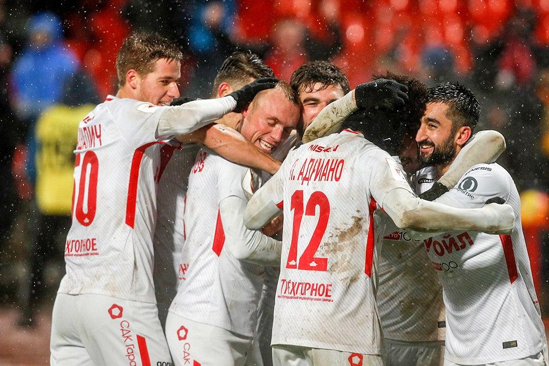 «Спартак» вырвал победу у «Арсенала» (Видео)