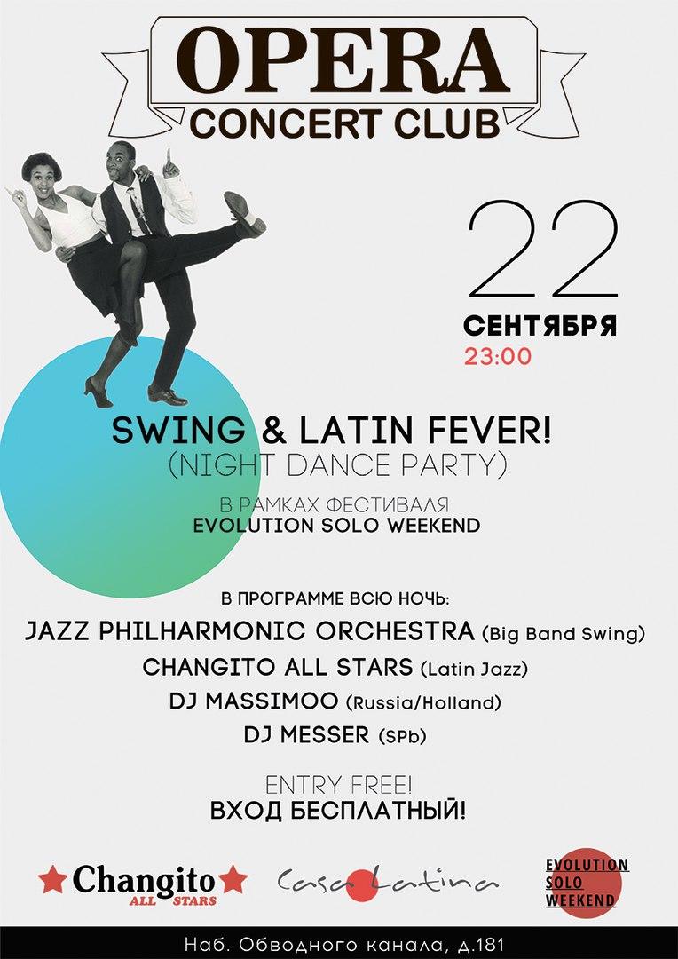 22.09 Swing & Latin Fever!
