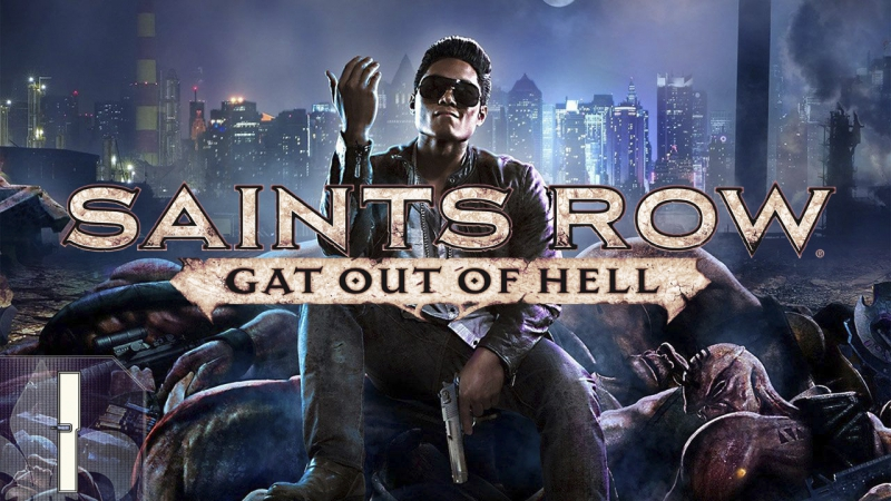 Saints Row Gat out of Hell РОК ПРОБЕГ 1 Добро пожаловать в АД