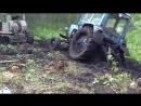Трактора Т 74 месят грязь на бездорожье! Каждый гусеничный трактор... Смотреть видео онлайн.