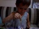 Эксперимент по выращиванию кристаллов из соли