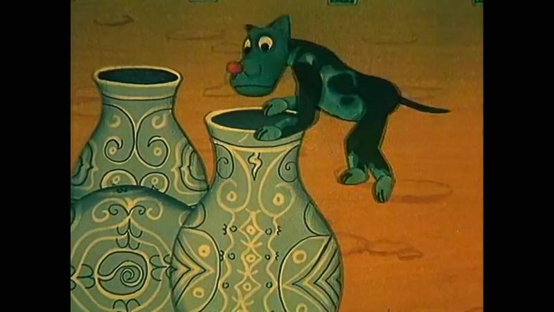 СКАЗКИ ТЫСЯЧИ И ОДНОЙ НОЧИ (мультфильм, семейный) 1974 год