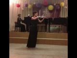 Педагогический ансамбль Макеева Алина (скрипка) и Городскова Ольга (фортепиано)
