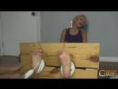 Krissy Koven Locked, Stocked and Foot tickled