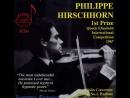 Philippe Hirschhorn - Paganini Violin Concerto № 1, ONB, R. Defossez, live 1967