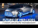 7 Best Mercedes-Benz Vision Concepts: What Will Cars Be Like in the Future?