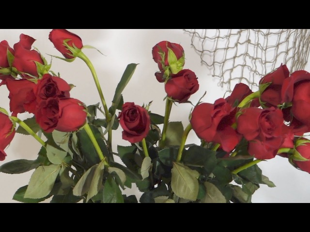Как оживить увядшие розы