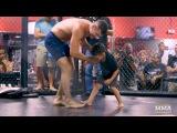 Chris Weidman's Kids Crash UFC on FOX 25 Open Workouts - MMA Fighting