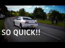 CRAZY 460BHP NISSAN SKYLINE R33 GTST RIDE