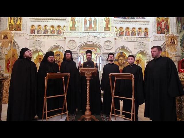 Радуйся, Невесто Неневестная, хор Валаамского монастыря.