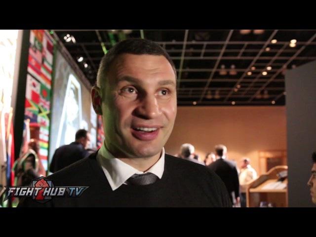 "Vitali Klitschko ""Joshua has to prove his skills!"" Wlad's biggest fault"