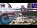 Slice Glitch Transition (Pixel Sorting Look) | Motion Graphics After Effects Tutorial
