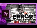 ERROR Free Glitch Distortion Presets for Premiere Pro